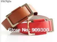 Free shipping Retail&wholesale 2013 Fashion new design leather  belt for women