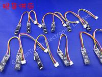 10pcs/pack 7mm,27mm length,SIDE mini Home Endoscope,av Borescope,avTube Snake Scope InspectionCamera,Waterproof,6 LED wired