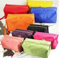 Hot selling, fashion candy colorful 22 colors waterproof oxford cosmetic bag Coin Purse