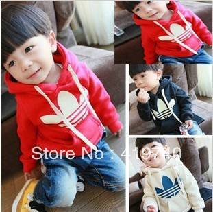 2013 Free Shipping HOT Boys Girls spring sports Clothing Baby Suit  3color infant Set Kids Longsleeve Hoody Jacket