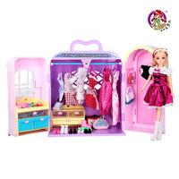 Doll toys dream wardrobe toy girl toy series doll set gift box