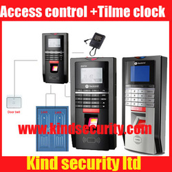 Biometric Fingerprint reader TCP /IP/RS485 Access Control pin code EM card reader built-in door lock Attendance(China (Mainland))