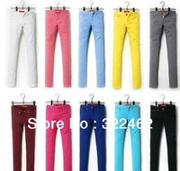 Fashion HOT Women Girls Pencil Pants Summer Trousers Plus Size XS-XXXL Multi Color 0051