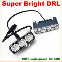 Genuine High Bright LED Daytime Running Light  Metal housing IP67 Waterproof DRL LED car driving Fog Light Lamp 1year warranty