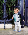 1 set, Free Shipping, New Arrival,(Jacket +Shirt+Pants ) 3pcs/set,Cool Baby Boys suit, Boys Clothes Set