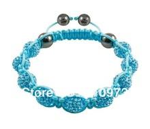 Fine Jewlery Shamballa Bracelet Fashion Jewelry Micro Pave CZ Disco Colour Beads Color Rope Shamballa Bracelets CCB003