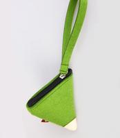 Small gift portable wool felt bag coin purse small storage bag coin case u-enjoy