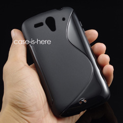 Free Shipping S-Line TPU Gel Skin Cover Case For Huawei Ascend G300 U8815 U8818(China (Mainland))