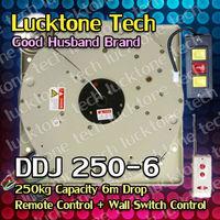 Chandelier Motor Remote-controlled Light Lift Chandelier Hoist Lifter DDJ250-6 (capability 250kg; 6m drop; 220--240V or 110V)