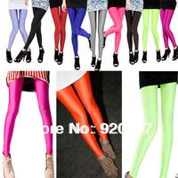 Colorful Fashion Women's Girl Neon Spandex Leggings Pants