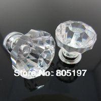 Crystal  Hanles ,Furniture knobs ,Cabinet handle  Diameter 26mm