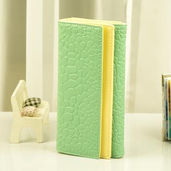 2013 new arrival fashion wallet   double flip stone pattern gentlewomen long design three fold  women's  LTG