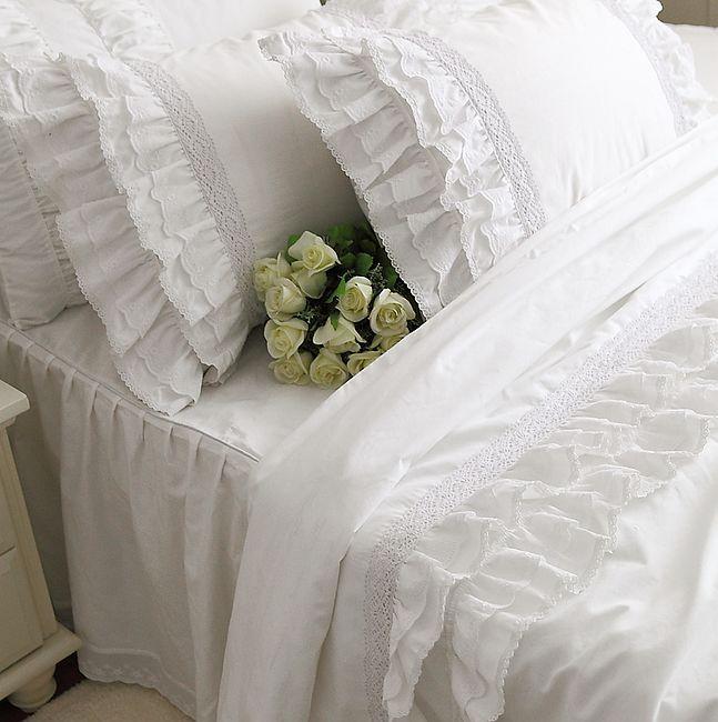 Кружевное постельное