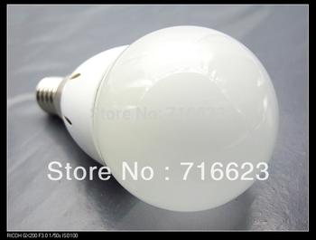 2013 new style Wholesale 1 PCS E14 Energy Saving LED high power 3WLight Lamp Bulbs Lighting Cool White warm white green red blue