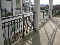 Real estate Hot dip galvanized steel balcony guardrails / balustrades