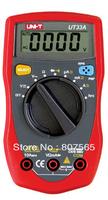 Auto Range UNI-T UT33A LCD Digital Multimeter Handheld AC DC ohm volt meter Free shipping