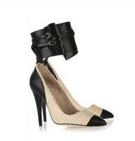 Isabel Marant Rea High Heel Chain Sandals Women Shoes