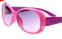 24 pieces MIX ORDER 2013 Retro fashion Solid Color rosin lens UV400 ultraviolet-proof children sunglasses kid's eyewear glasses