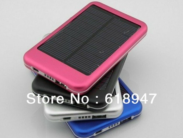 Best price Free shipping 5000MAh solar charger External Battery for ipad, iphone, smart phone(China (Mainland))