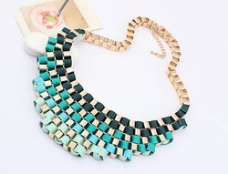 Free Shipping ! Min order $10 Trend fashion hot necklace Factory Price(China (Mainland))