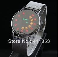 Singapore postal Drop shipping Free Shipping  2013 G1098 New Unisex Fashion Wrist LED Watches Women's Men's Sport Watches gift
