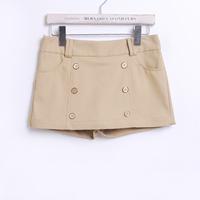 2013 women's mid waist casual shorts culottes shorts