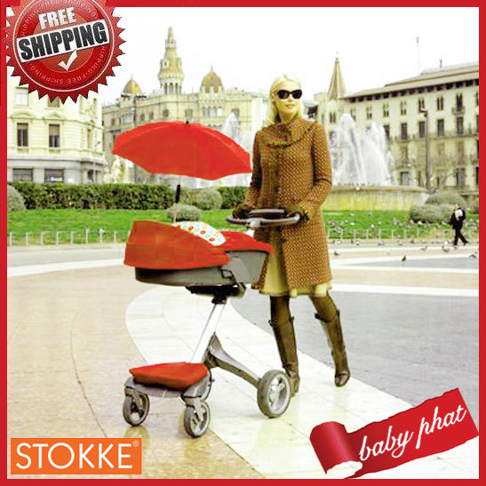 2011 New Fashion Design Red Stokke Xplory Baby Product+Best Quality & Hot Sale Amazing Price EMS Free shipping!(China (Mainland))