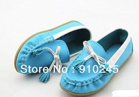 2013 new hot sale Tassel goosegrass bottom single shoes of the girls canvas shoes free shipping for EMS 50 pair= 1 lot
