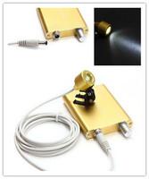 Yellow Color Denatl LED Headlight Lamp for Surgical Medical Binocular Loupe