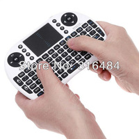 New Measy RF500 2-IN-1 Smart Wireless 2.4GHz Air Mouse + Touchpad Handheld Keyboard Combo, Wholesale