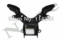 motorcycle parts Black Front Upper Fairing Stay Bracket For Yamaha YZF R6 2008 2009 Headlight Bracket