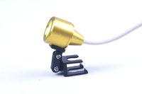 2012 New LED Head Light Lamp for Dental Surgical Medical Binocular Loupes Golden