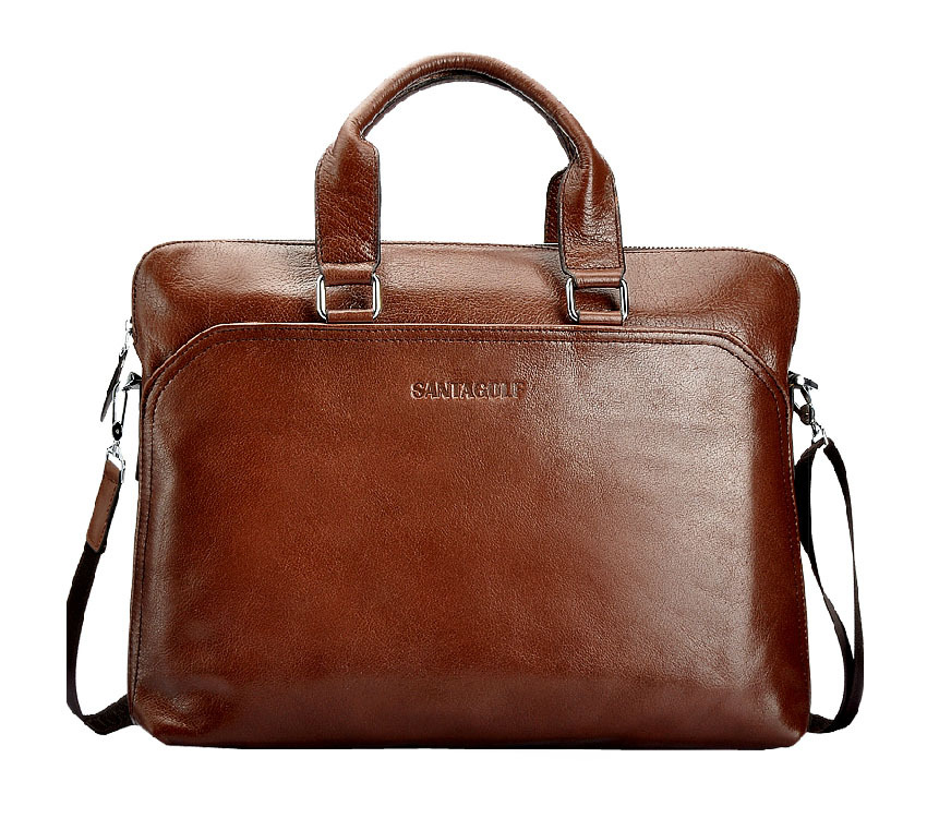 New Arrival fashion men santagolf british style business casual messenger bag, men handbag briefcase,handbag laptop brand design(China (Mainland))