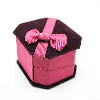 Free shipping if order >$10 6.6 5.9 4.3cm quality gift box gift box jewelry box ring box