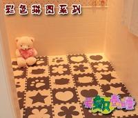 Free shipping Eco-friendly eva middlebury crawling baby puzzle foam mats meters 30cm*30cm*1cm