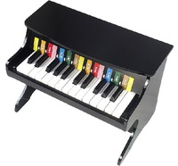 2013 Special handmade the refined wooden 25-key children's toys small piano keyboard music puzzle