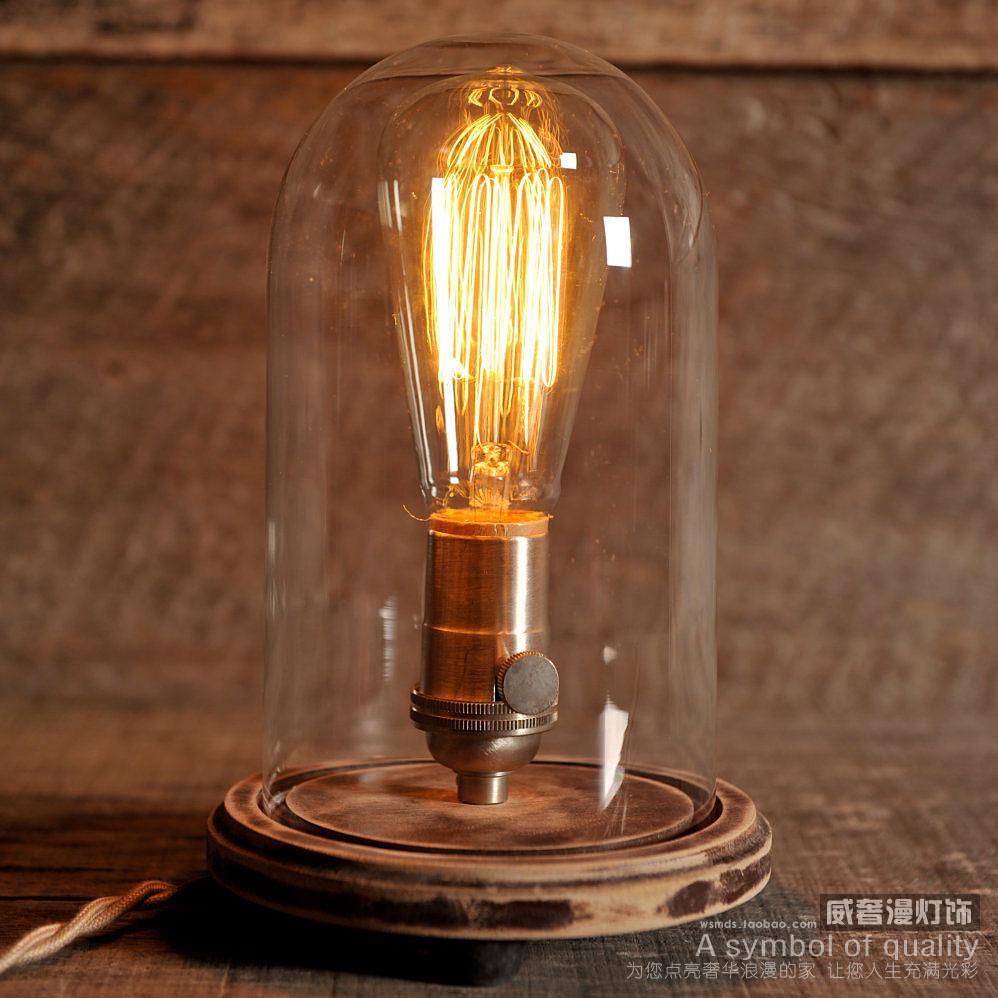 kaufen sie edison lampe jahrgang glocke. Black Bedroom Furniture Sets. Home Design Ideas
