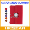 360 Degree Rotating Twill Case with Stand for Samsung Galaxy Tab2 10.1 P5100/P5110 Free Shipping