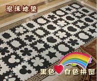 Free shipping Non-slip pad non-toxic EVA environmental mat crawling mat foam puzzle mats black and white
