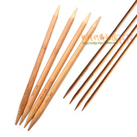 Knitted tools sweater needle bamboo stick pin tiger bamboo needle yarn needle 4 set 7