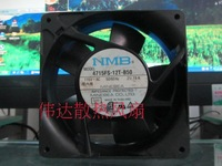 Free Shipping Brushless Server Square Fan Cooling Fan NMB 12038 115V 0.21/0.19A 4715FS-12T-B50 119*119*38MM