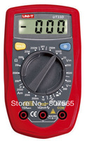 Free Shipping UT33D Palm Size Digital Multimeter UT-33D