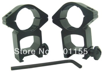 In stock 2 X 25mm 1 Inch Low Qd Profile Weaver Scope FlashlighT Ring Mount 20mm Rail