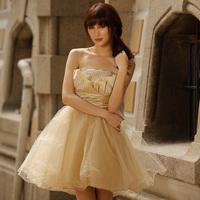Hot explosion models September2000 2012 puff dress dress bridesmaid dress 7727 princess  formal dress