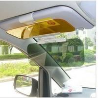 Car sun-shading day and night multi-purpose mirror sun-shading stoopable sun-shading board dimming light goggles