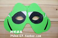 free shipping 10pcs/lot 10g child performance props child cartoon animal mask eva mask frog mask b