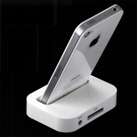 Brand new For for iphone 4 4s charge base 3g 3gs base for apple mobile phone charger mount dock Free shipping