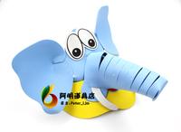free shipping 6pcs/lot 20g cartoon hat infant adult eva hat ball animal - hat