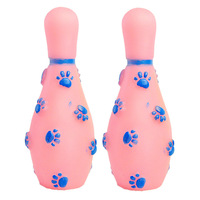 Ha Road, Union Pet Toys Plastic Toys dog bite-resistant Bowling molar VIP Teddy Bear supplies