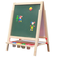Shengjiang child drawing board ultralarge mount type double faced magnetic painting size blackboard doodle